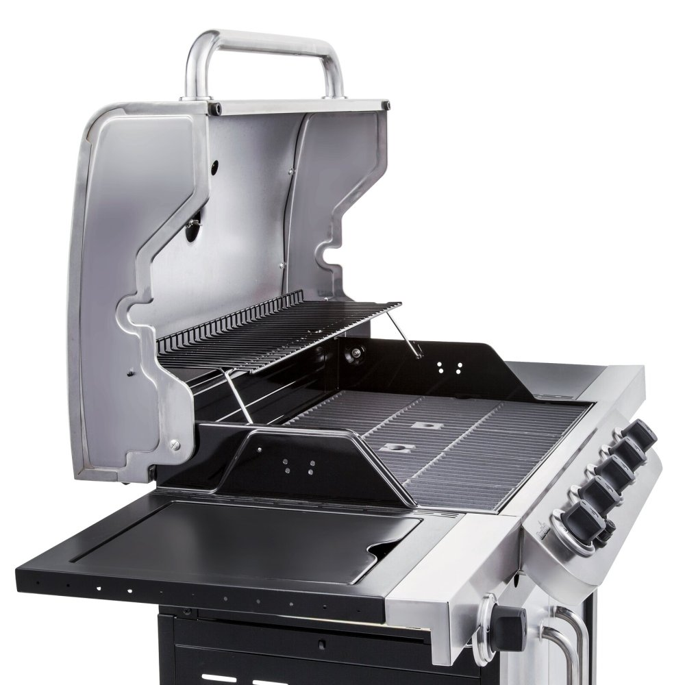 Char-Broil 5 - Burner Free Standing Liquid Propane 45000 BTU Gas Grill with Side Burner and Cabinet
