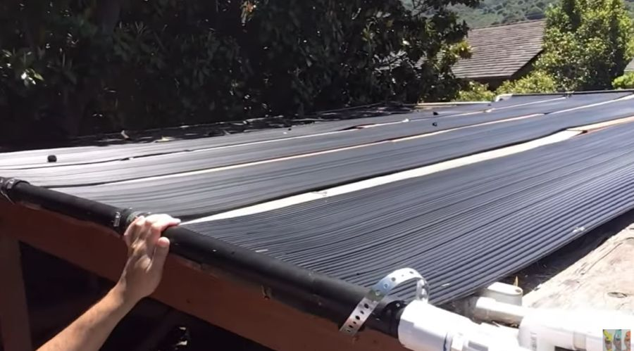 DIY Solar Pool Heater 30 Degrees Temperature Increase in 3 Steps