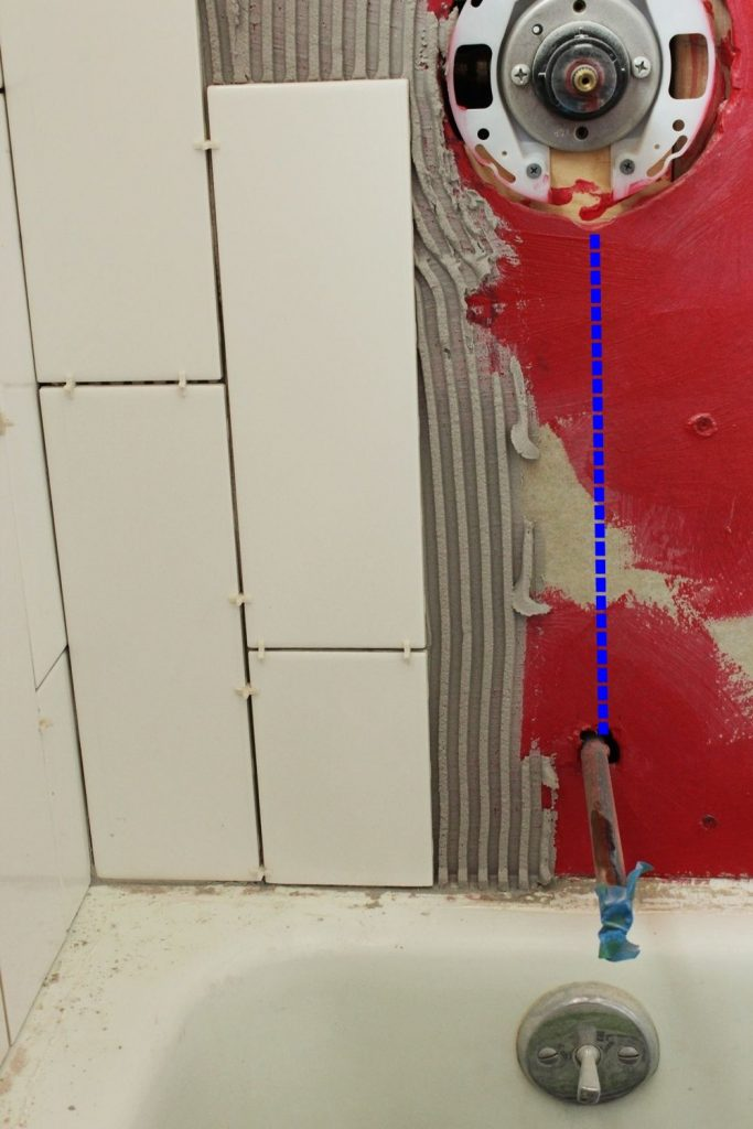 how to cut a hole in tile