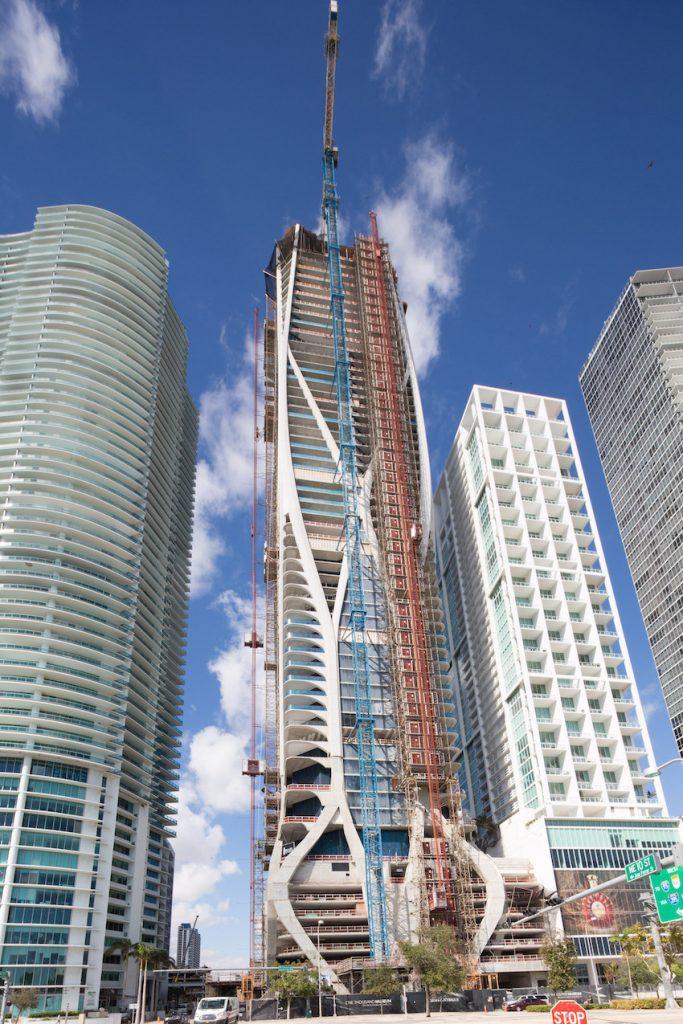 Dramatic Exoskeleton Highlights Zaha Hadid's One Thousand Museum Tower