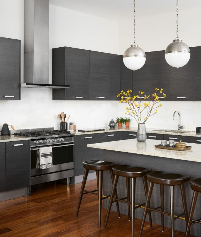 Pair it with contrasting cabinetry