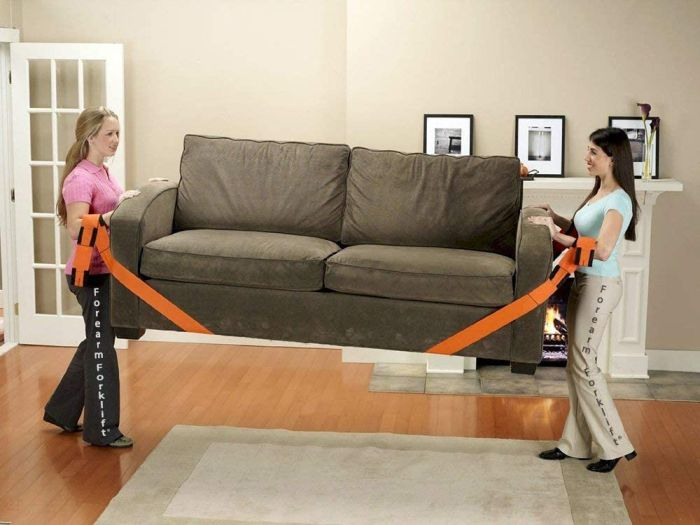 Forearm Lifting and Moving Straps for Furniture