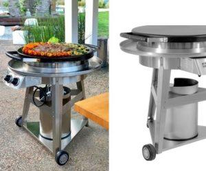 evo格栅平板烤架是常规燃气烤架的替代品