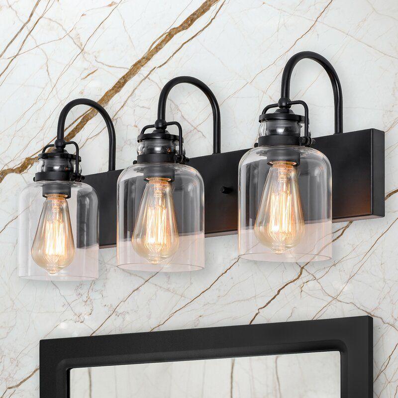 Hawtree 3-Light Dimmable Vanity Light