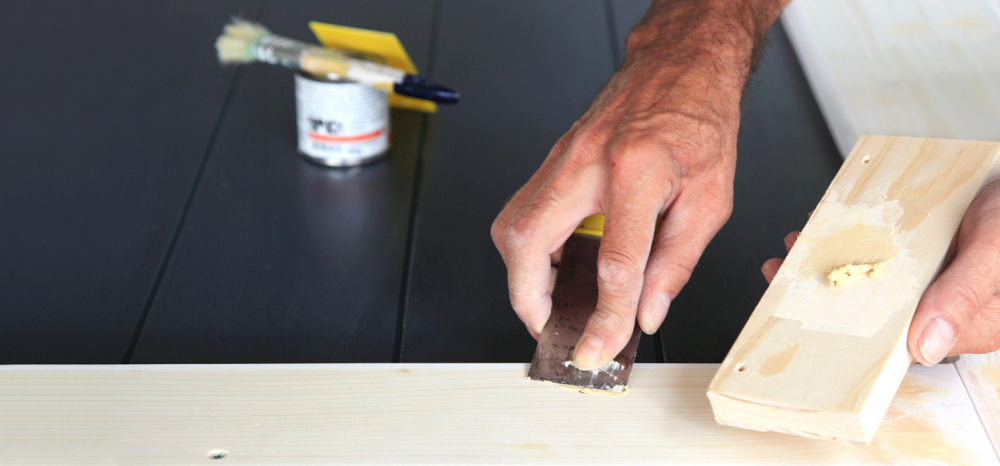 How To Use Wood Putty