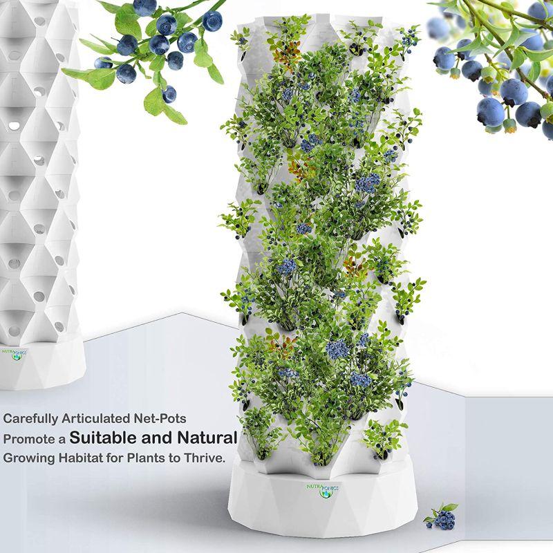Hydroponics Tower Aquaponics Grow System