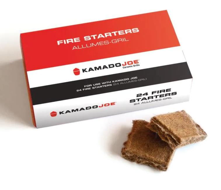 Kamado Joe Fire Starters - 24-Piece Box - KJ-FS