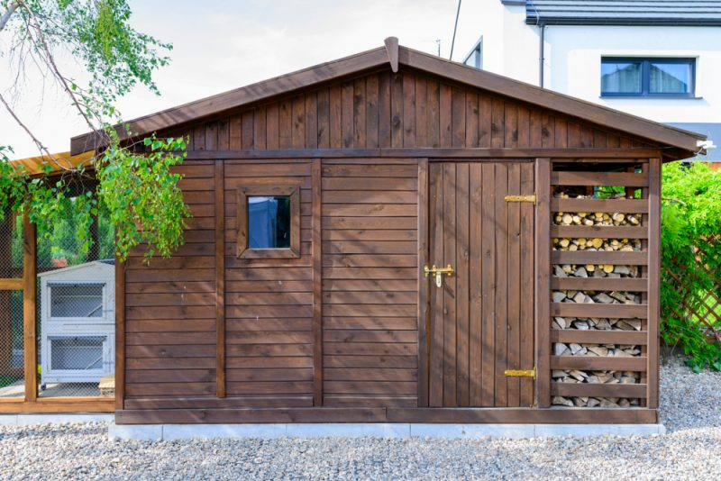 Keep Your Wood Dry with a Firewood Shed