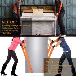 Moving furniture straps