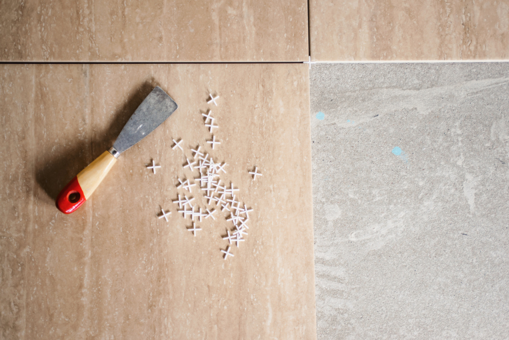 How to prepare the tiles