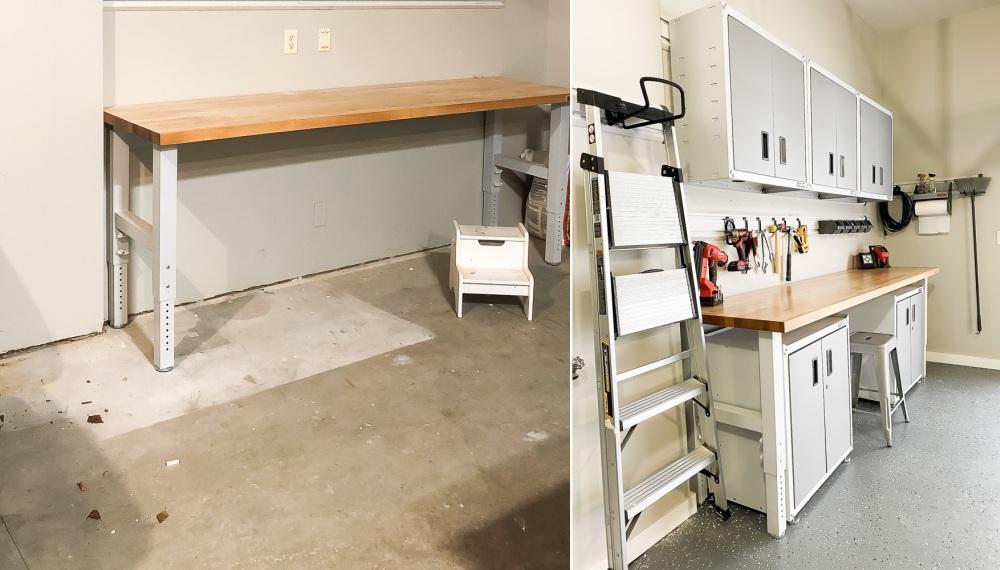 DIY floor garage paint