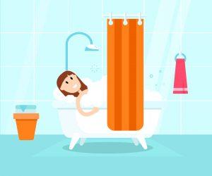 标准淋浴窗帘尺寸和最好的淋浴窗帘选择