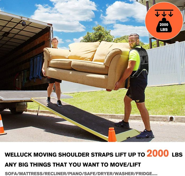 WELLUCK Furniture Moving Straps