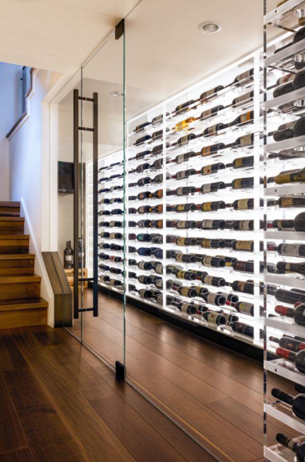 Wine Cellar Mercer Island Residence
