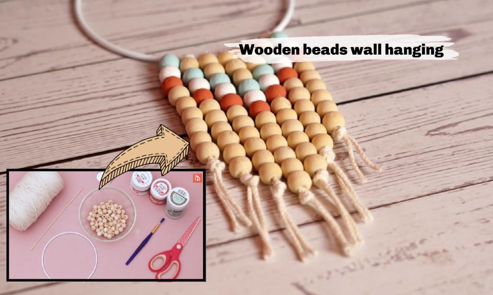 Wooden beads decor