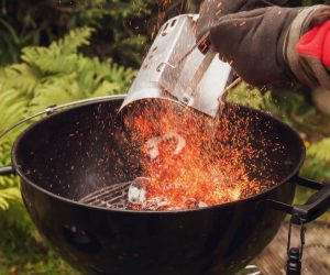 Skip the Fuss and Get a Charcoal Fire Starter