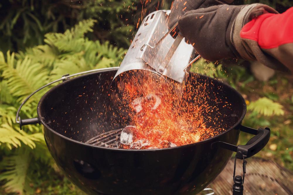 charcoal fire starter