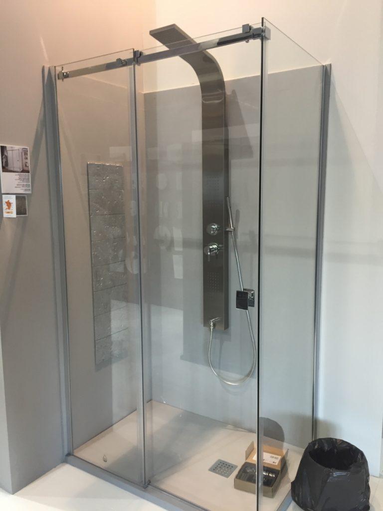 shower valve rough in height