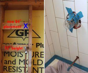 标准淋浴阀高度指南
