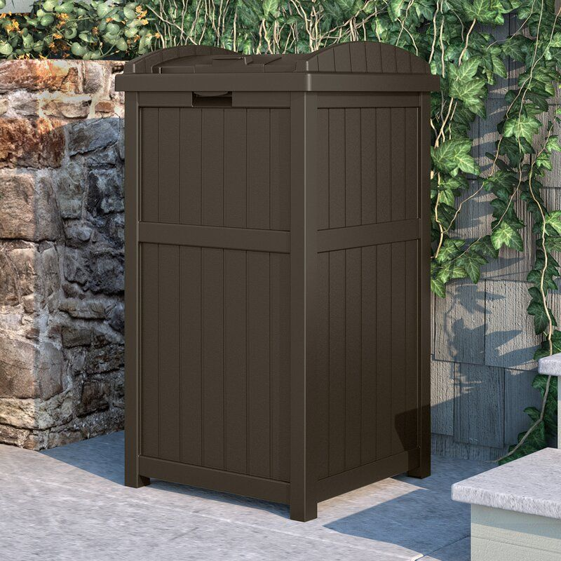 Suncast 30 Gallon Trash Can