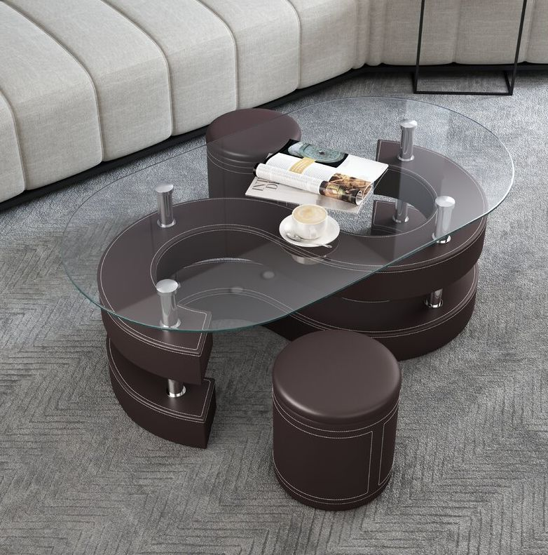 Addaly Abstract Coffee Table