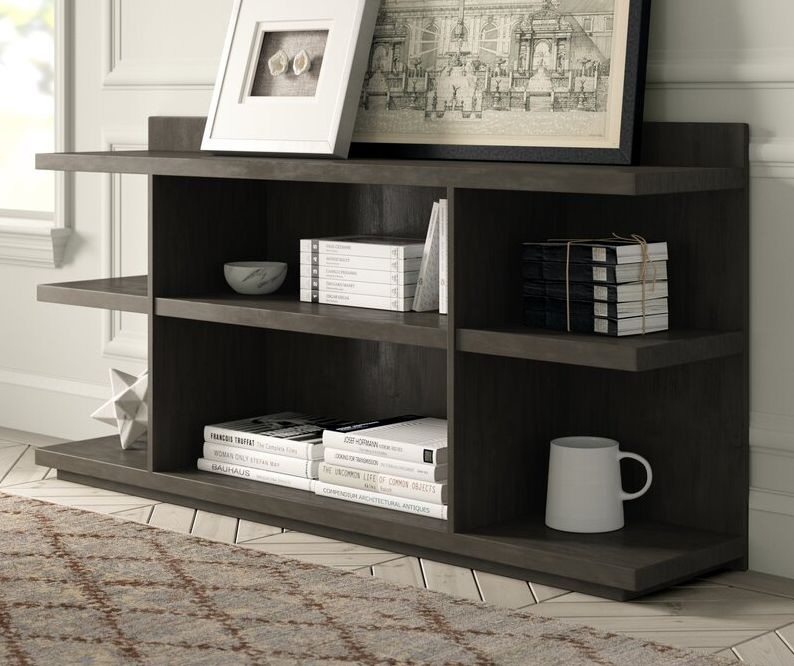 Artrip W Solid Wood Library Bookcase