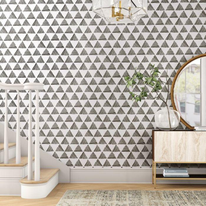 Monochrome double pattern