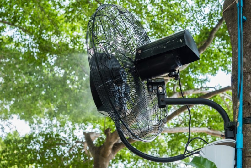 Stay Cool This Summer with the A Portable Misting Fan