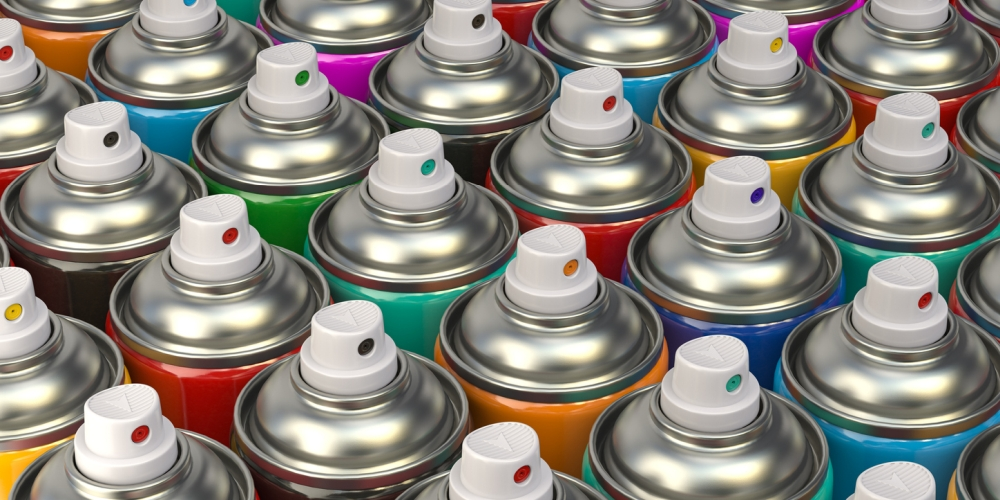 spray paint for metal