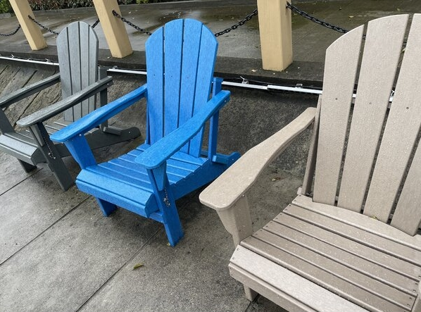 Bethune Plastic Adirondack Chair (Set of 2)