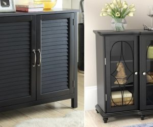 Black Accent Cabinets to Compliment Any Decor