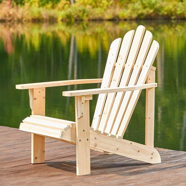 Burgan Solid Wood Adirondack Chair