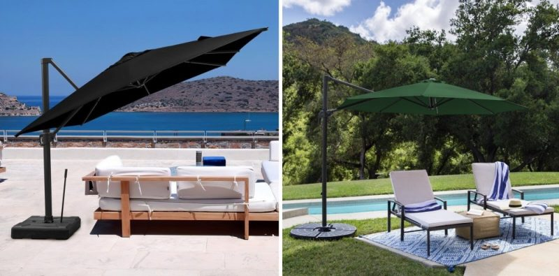 Sit Cool in the Shade with the Best Cantilever Patio Umbrellas