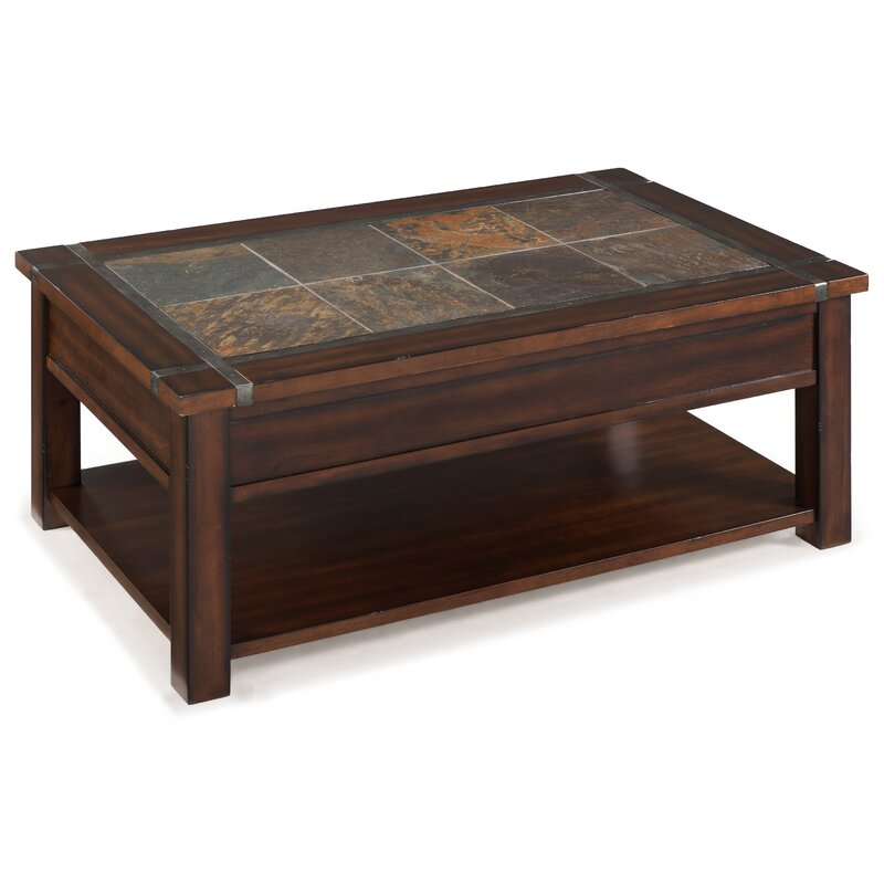 Celsus Coffee Table with Lift Top and Caster
