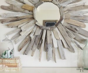 How To Reinvent Your Cozy Home With A DIY Farmhouse Mirror