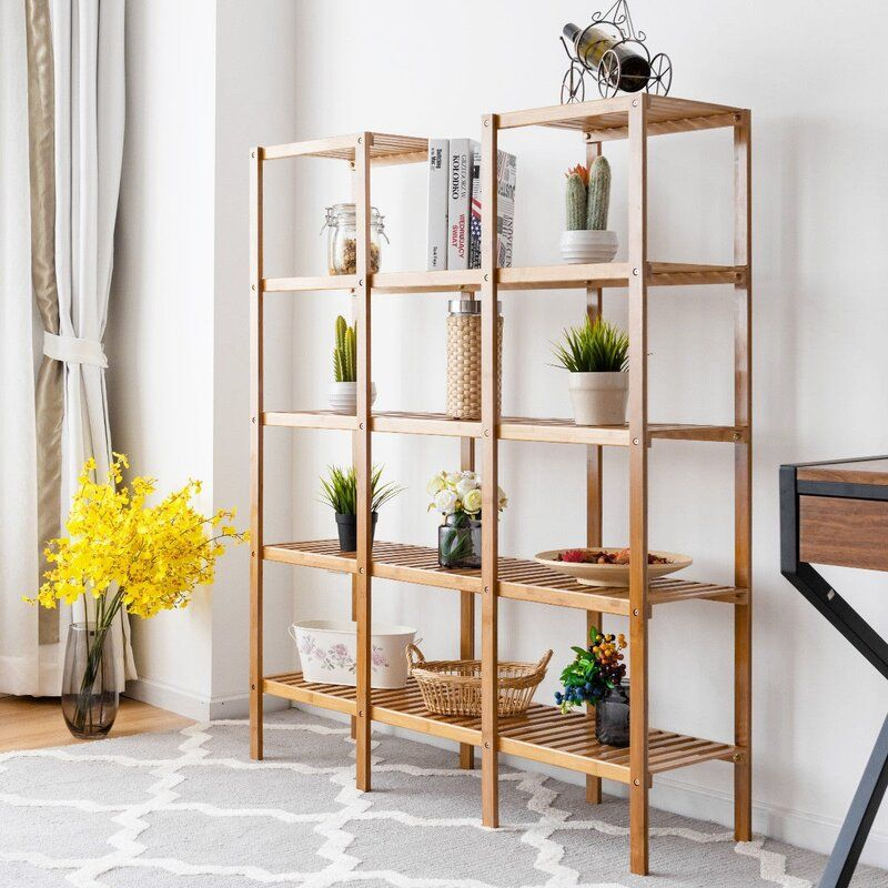 Claireville Multifunctional Shelf Flower Plant Display Stand