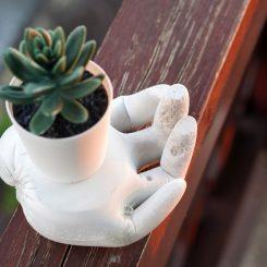DIY Hand Planter