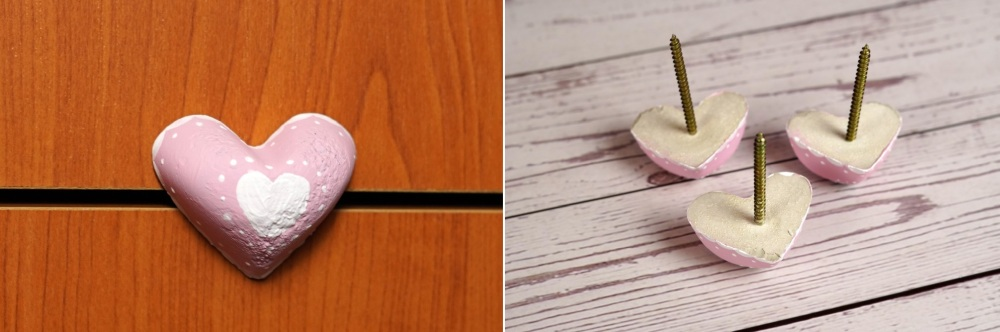 DIY Cabinet Knobs Made From Concrete
