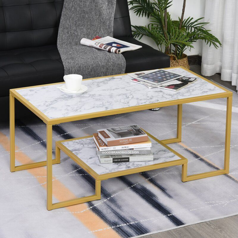 Duluth Frame Coffee Table with Storage