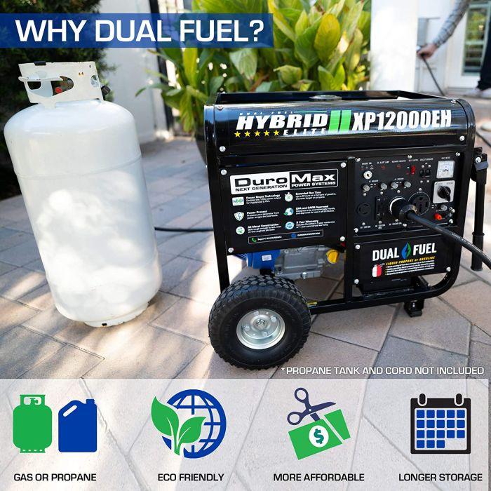 DuroMax XP12000EH Dual Generator