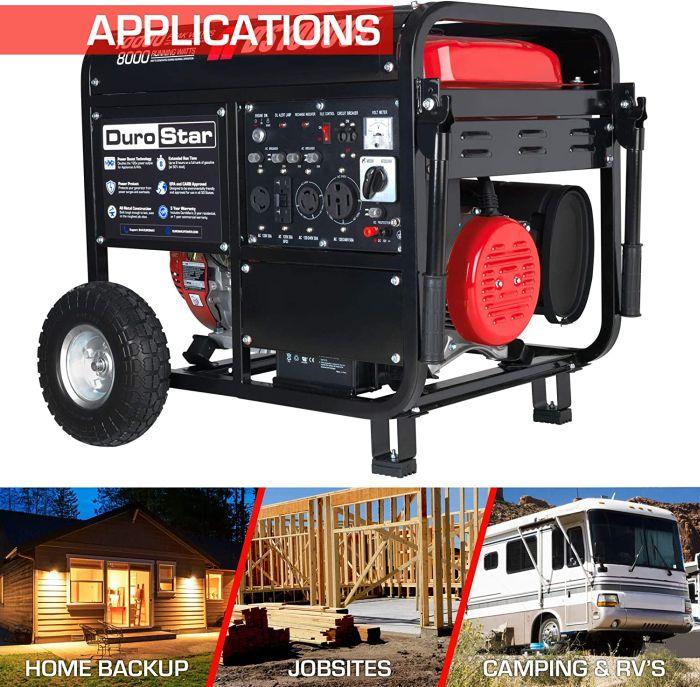 DuroStar DS10000E Gas Generator