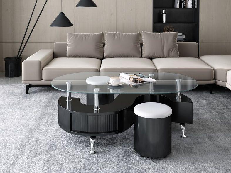 Eluan Abstract Coffee Table