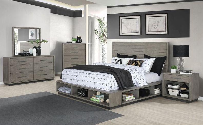 Etheredge Dakota Platform 5 Piece Configurable Bedroom