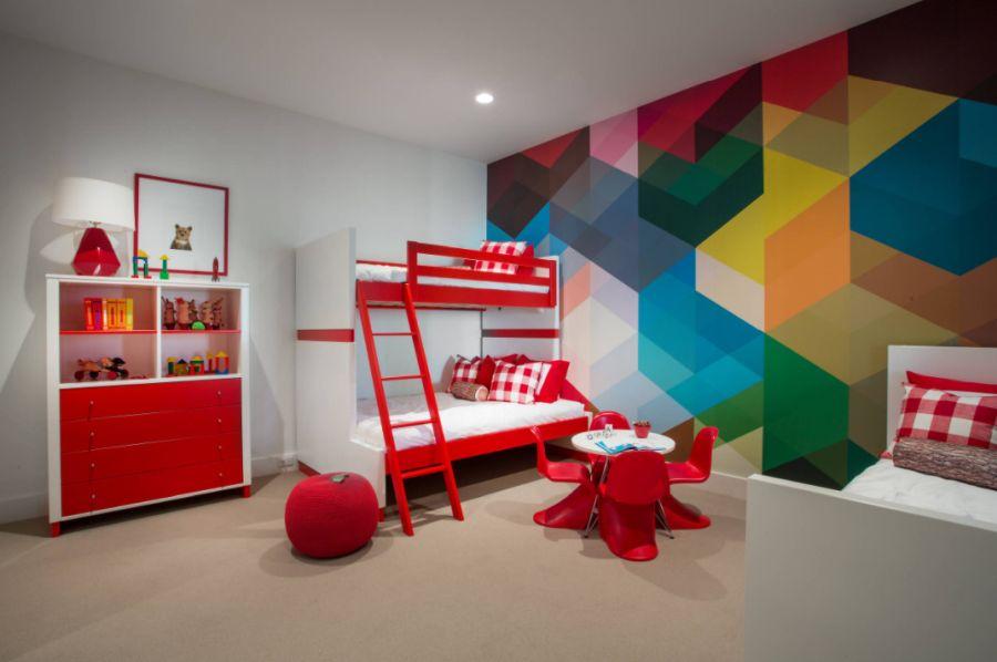 Multicolored, fun and cheerful