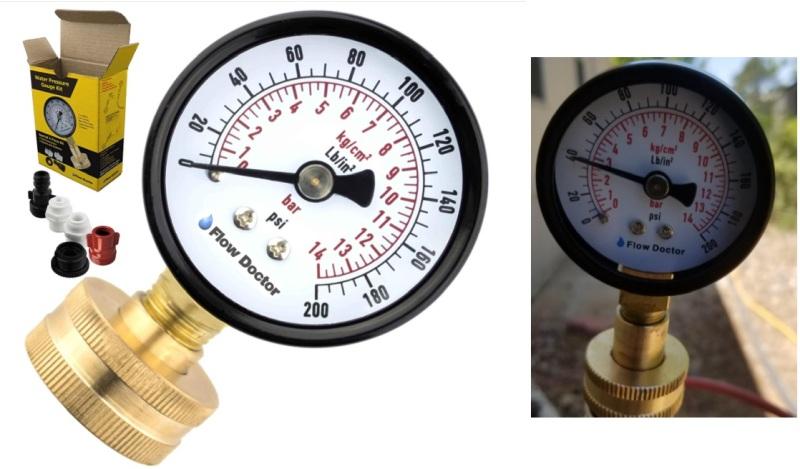 Best Adaptable Water Pressure Gauge