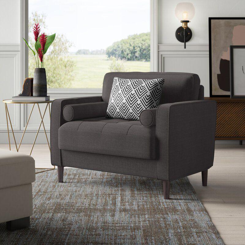 Garren Polyester Club Chair