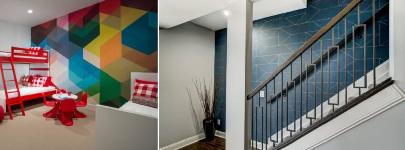 How To Make Your Home More Interesting With Geometric Wallpaper
