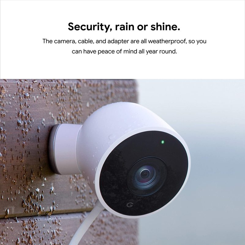 Google Nest Cam Outdoor 2-Pack