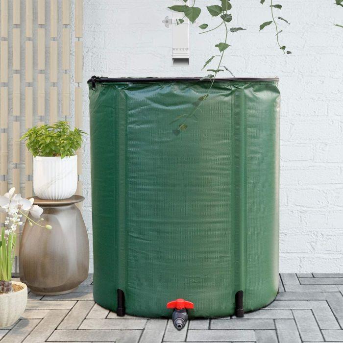 Goplus Portable Rain Barrel Water Collector