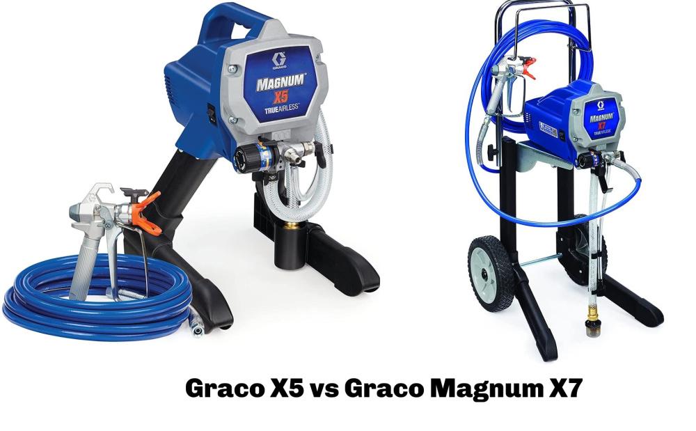 Graco X5 vs Graco Magnum X7